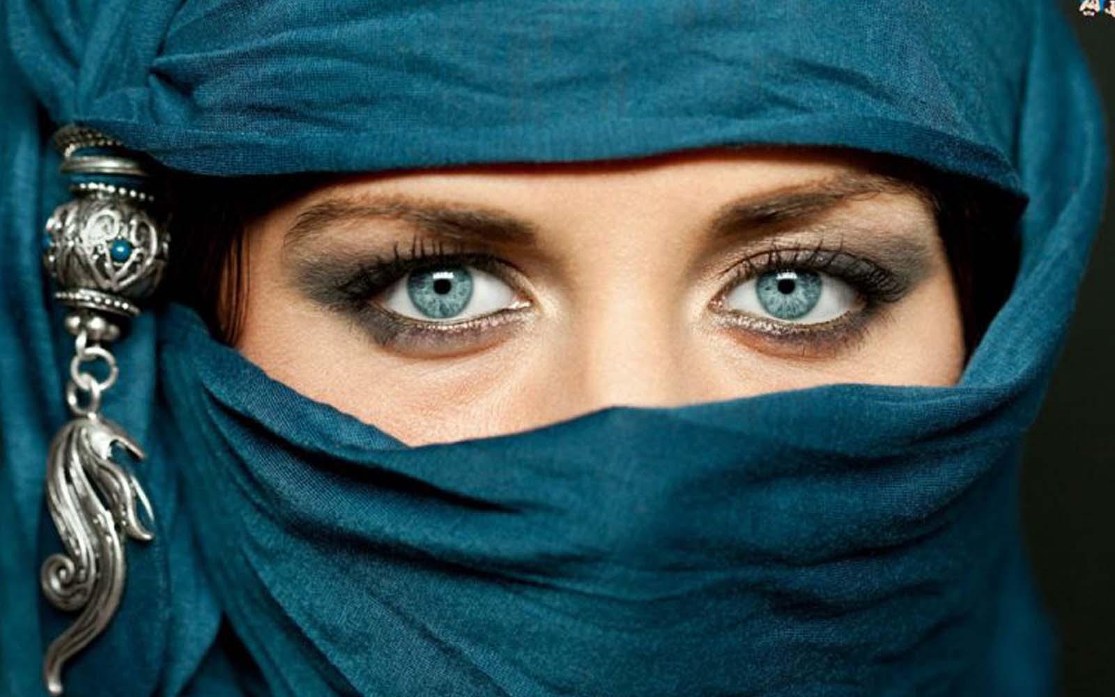 Красивые женщины-мусульманки